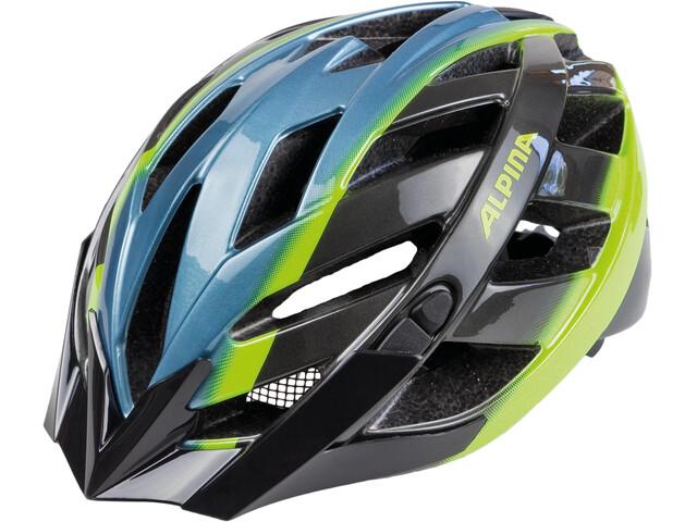 Alpina Panoma Cykelhjälm blå/flerfärgad